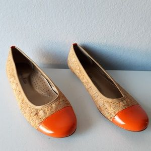 Vintage Neiman Marcus flat quilted shoes